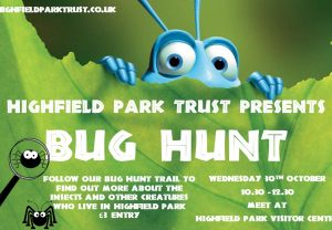 Bug Hunt - CANCELLED @ Visitor Centre