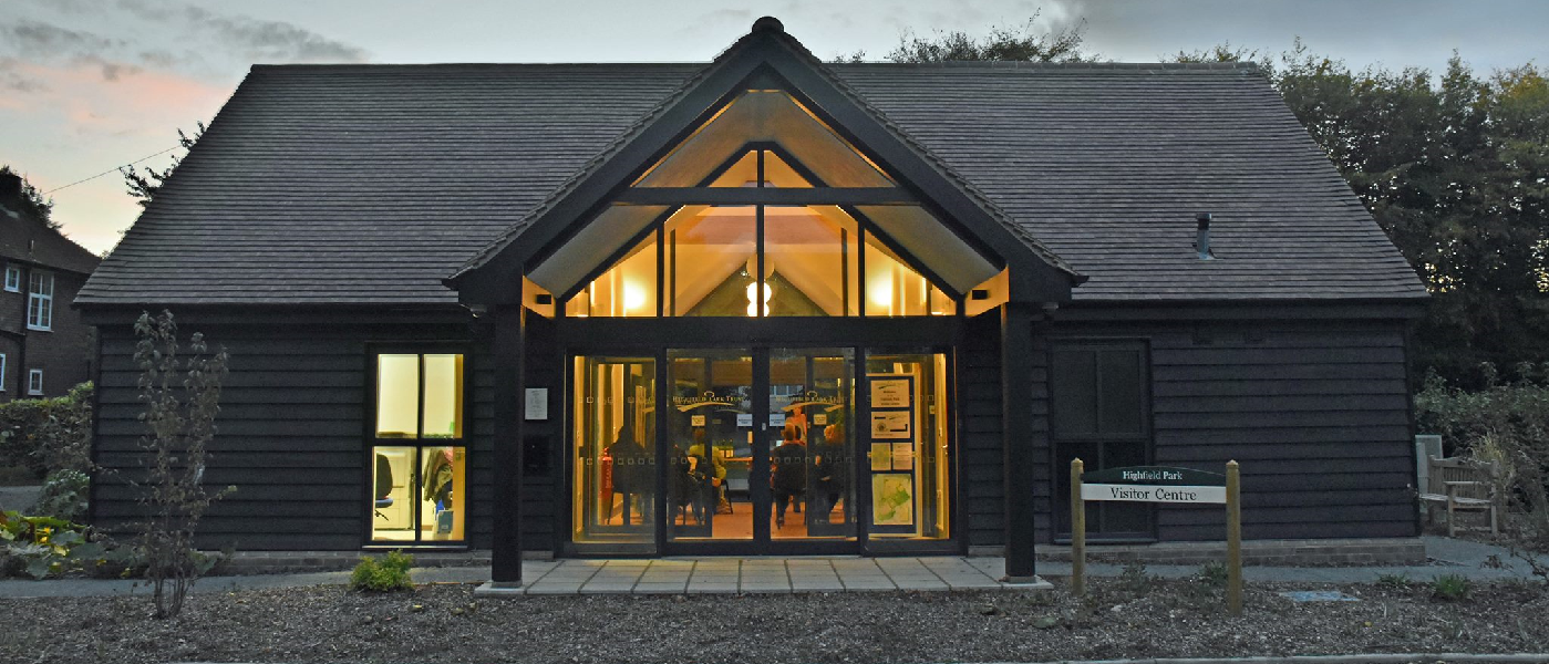 Visitor Centre By Night