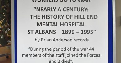 44 Hospital Workers Go to War Exhibition