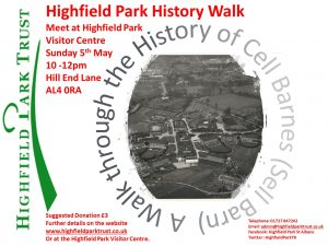 History Walk 2019 @ Highfield Park Visitor Centre