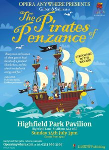 The Pirates Of Penzance @ Highfield Park Pavilion