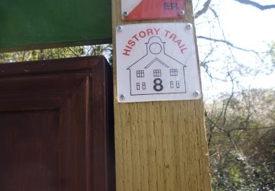 New History Trail markers
