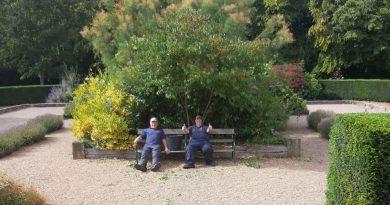 Highfield Helpers in the Mediterranean Garden.
