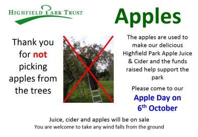 Apples go missing!