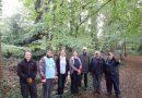 Highfield Helpers clear Winchfield Wood