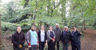 Highfield Helpers clear Winchfield Wood