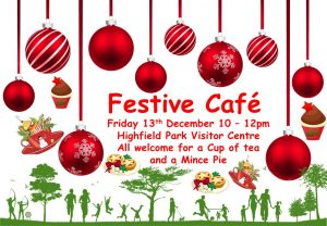 Festive Cafe @ Highfield Park Visitor Centre