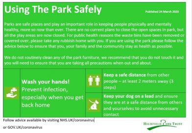 Using the Park safely