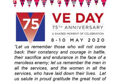 VE Day at Hill End