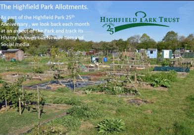 Highfield Park Trust 25th Anniversary – The Allotments