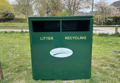 New Litter and Recycling bins